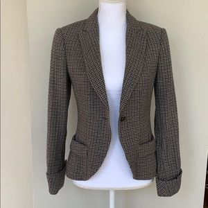 BENETTON Fitted Wool Blazer